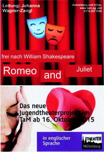 Romeo and Juliet – Jugendtheaterprojekt in englischer Sprache