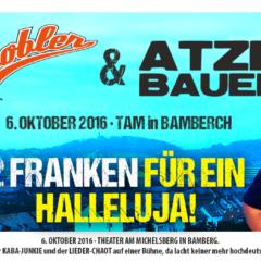 Strobler&Bauer- 2 Franken für ein Hallelujah