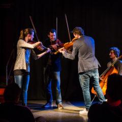 Das Feuerbach-Quartett im TaM – Pop trifft Classic!