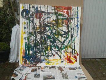 Making of the Bühnenbild für Mona & Lisa